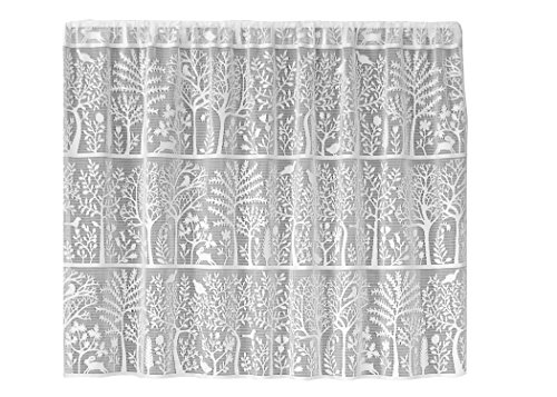 Heritage Lace Rabbit Hollow Tier, 60 by 30-Inch, - Tiers Lace Curtain