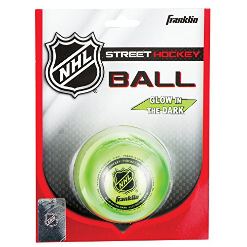 Franklin Sports NHL Street Hockey Glow In the Dark Ball