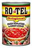 Rotel  Chunky Diced Tomatoes & Green Chilies, 10-Ounce Cans (Pack of 12)