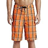 Hurley MBS0000750 Mens Puerto Rico Boardshort, Total Orange A-33