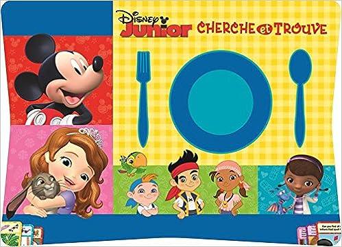 Amazon Fr Disney Junior Cherche Et Trouve 76 Sets De Table