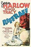 Riffraff Poster Movie D (11 x 17 Inches - 28cm x 44cm) Jean Harlow Spencer Tracy Joseph Calleia Una Merkel Mickey Rooney Victor Kilian