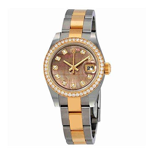 Rolex Datejust Automatic Diamond Ladies Watch 179383BKMDO