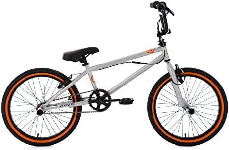 Unbekannt KS Cycling – Bicicleta BMX Freestyle crxx, Plata de ...