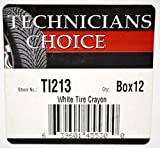 Technicians Choice White Tire Marking Crayon