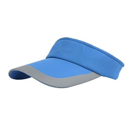 Hosaire Womens Sport Visor Cap Ladies Sports Tennis Golf Running Sun Hat  size 50cm-60cm (blue)  Amazon.co.uk  Kitchen   Home fee7dc0e1cb8