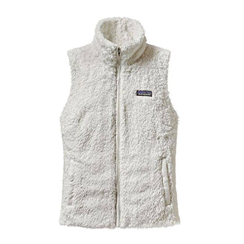 Patagonia Womens Los Gatos Fleece Vest 25215 (Medium, Birch White)