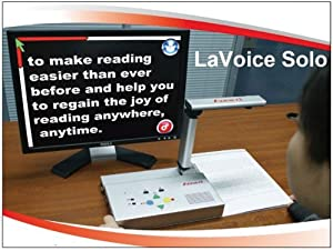 LaVoice Solo Reading Machine and Magnifier