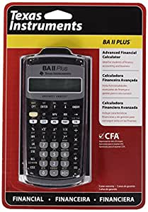 Baii Plus Texas Instruments - Calculadora (bolsillo, Científico, Negro)