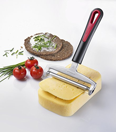 Westmark Heavy Duty Adjustable Stainless Steel Cheese Slicer, - Cheese Handheld