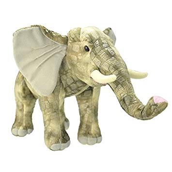 Wild Planet 33 cm – elefante de peluche (Multicolor)