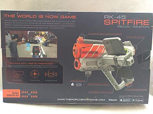 Recoil RK-45 Spitfire Recoil Weapon for Use with Recoil Starter Set Ages 12+ New by Generic (Image #1)