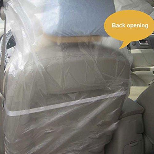 10 Pcs Leaftree Auto Sitzbezug//Sch/ützen Sie Ihren Autositz und Autositz Pad beim Waschen einmalige Verwendung