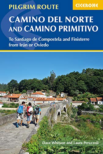 The Camino del Norte and Camino Primitivo: To Santiago de Compostela and Finisterre from Irun or Oviedo (Cicerone Guides) (Pilgrims Route To Santiago De Compostela Map)