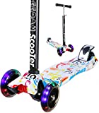 EEDAN Scooter for Kids 3 Wheel T-bar Adjustable Height Handle Kick Scooters