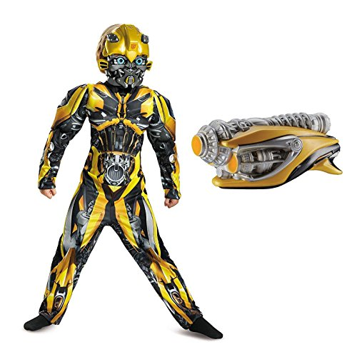 Transformers Bumblebee Children's Classic Muscle Costume Kit M