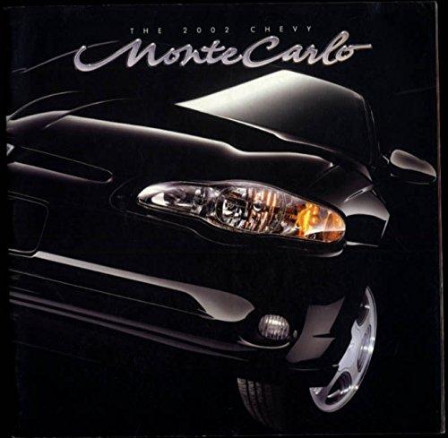 2002 Chevrolet Monte Carlo sales brochure SS LS Sport