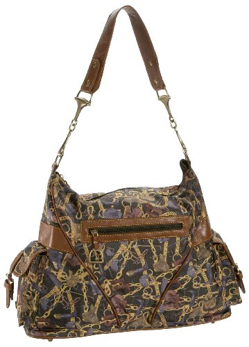 Sydney Love Equestrian Slouch Bag Hobo,Multi Print,one (Slouch Bag Pattern)