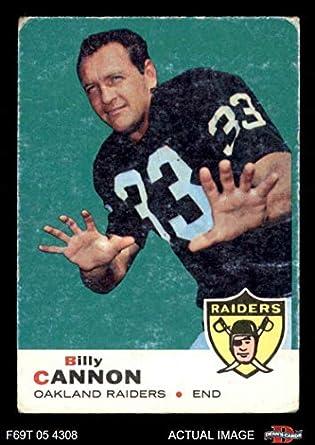75edcd08fa9 1969 Topps   68 Billy Cannon Oakland Raiders (Football Card) Dean s Cards 2  -