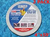 Eternabond RSW-4-50 Roofseal Sealant Tape, White - 4''x50' - PACK OF 2