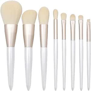 Cocoty-store 2019 2Essentials Brochas de Maquillaje Set 8 Unids Púrpura Color Profesional Base de Cara Sombra de Ojos Delineador de ojos Resaltador Kits de pinceles de maquillaje(B): Amazon.es: Belleza