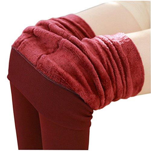Qflmy Womens Waisted Elastic Leggings