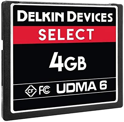 Delkin Devices - Tarjeta de Memoria Compact Flash Select ...