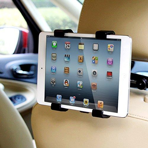 Tomkity Universale Halterung für Tablets an der Kopfstütze Kfz Halterung 360 Auto für iPad, Samsung Tab,Kindle