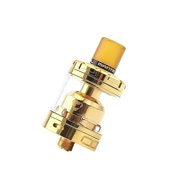 Amazon.com: Original Manta RTA MTL 2nd 3ml Tank Top Filling 24MM Super Single Coil, 510 Drip Tip Full Kits (Black): Clothing
