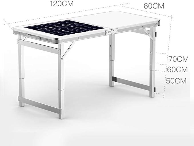 ECO-WORTHY Kit de Panel Solar portátil Plegable de 12 voltios ...