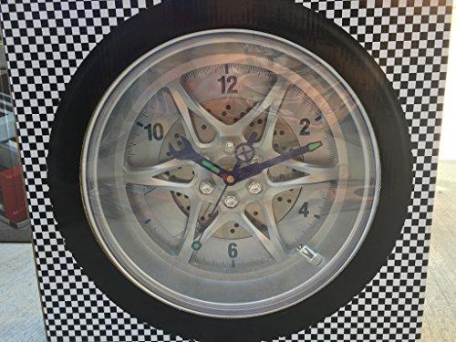 (Harbor Freight Tools Tire Rim Gear Clock)