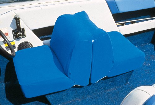 Taylor Made Products 11997 Boat Seat Cover (Back to Back Lounge Seat, Blue) Offshore Boat Seat Covers