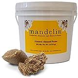 Mandelin Natural Almond Paste (10.5 lb), 50% Almonds, 50% Sugar