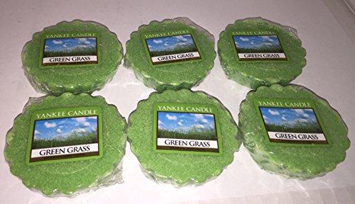 Yankee Candle Lot of 6 Green Grass Tarts Wax Melts