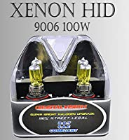 9006 HB4 x2 pcs Low Beam or Fog Light Xenon HID Yellow Direct Replace Bulbs