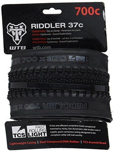 WTB Riddler Light Fast Rolling Tire 700x37cm [並行輸入品] B078J2JLGF