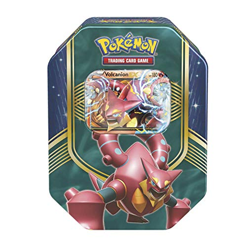 Pokemon Cards TCG: 2016 Fall Tin Battle Heart Volcanion w/ Special Foil Card!