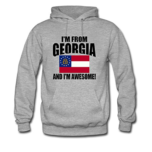 WENL Men's I'm from Georgia and I'm Awesome (Georgia Relaxed Fit Jean)