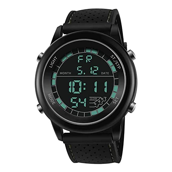 Coconano Reloj Digital Deportivo Impermeable Luminoso De ...