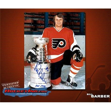 Autographed Barber Photo - Cup 8 x 10 - Autographed NHL Photos ()