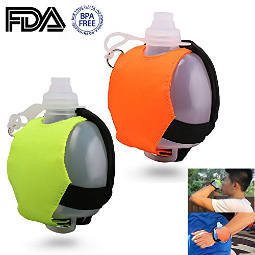 GJY Adjustable Wrist Running Water Bottle, Suitable For Fitness, Yoga, Running, Riding, Marathon, Camping, Outdoor Activities And Other Outdoor Activities.