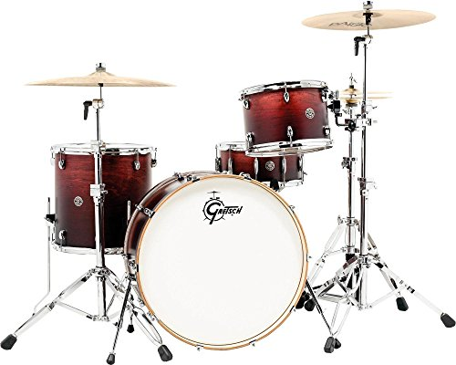 - Gretsch Drums Catalina Club Rock 3-Piece Shell Pack Satin Antique Fade