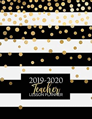 Teacher Lesson Planner: Weekly and Monthly Calendar Agenda ...