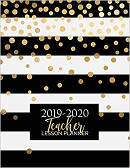 Teacher Lesson Planner: Weekly and Monthly Calendar Agenda