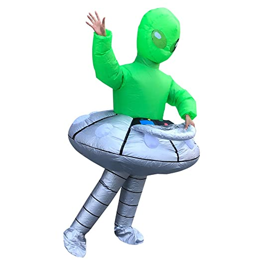 AFuex Disfraz de explotar Alien UFO Christmas Ropa Inflable ...