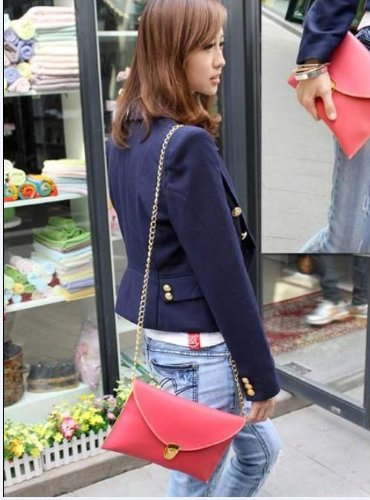 Evening Envelope Purse Multicolors Shoulder Chain Bag Handbag White lady Tote Clutch Women Gaorui qUcW4PRx