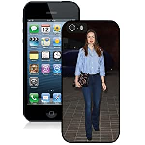 Unique Designed Cover Case For iPhone 5s With Emma Miller Girl Mobile Wallpaper(45) Phone Case