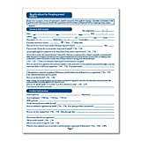 ComplyRight Healthcare Employment Application Long Form, 50 Pack