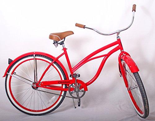 26' Womens Cruiser Bike (Women's Cruiser Bike 26'' (Red))