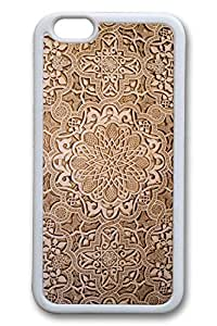 The Ancient Carving Decorative Pattern Slim Soft Cover for iPhone 6 Plus Case ( 5.5 inch ) TPU White Cases by icecream design